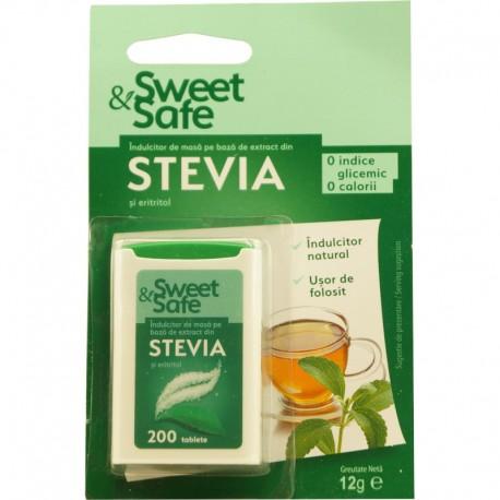 Indulcitor Stevia Sweet Safe 200tb Sly Nutritia