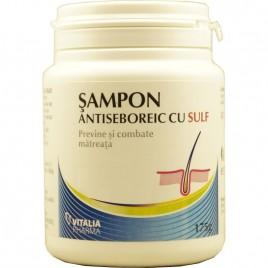 Sampon Antiseboreic cu Sulf 175g Vitalia Pharma