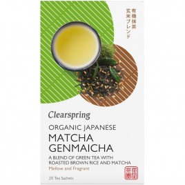 Ceai Matcha Genmaicha Bio 20dz Clearspring