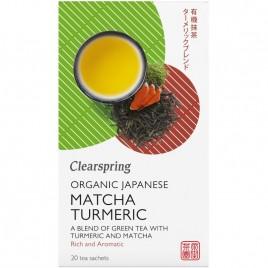 Ceai Matcha Turmeric Bio 20dz Clearspring