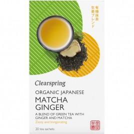 Ceai Matcha Ghimbir Bio 20dz Clearspring