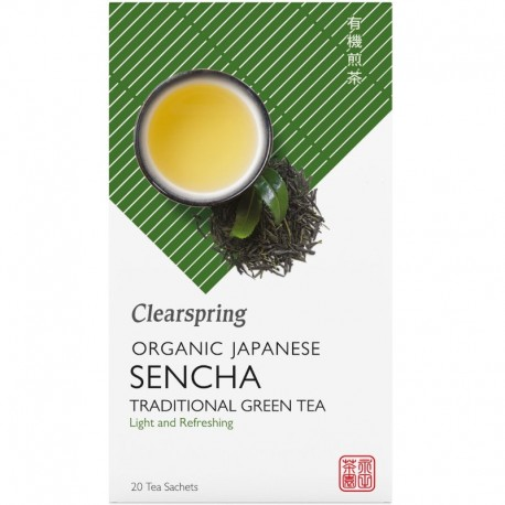 Ceai Verde Sencha Bio 20dz Clearspring
