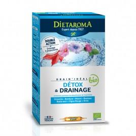Fiole Buvabile Drainideal, Eco 20fiole x 15ml Dietaroma