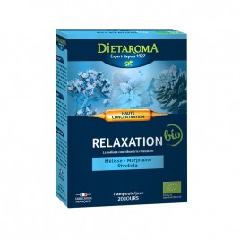 Fiole Buvabile Relaxare, Eco 20fiole x 10ml Dietaroma