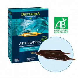 Fiole Buvabile Articulatii, Eco 1 fiola x 10ml Dietaroma