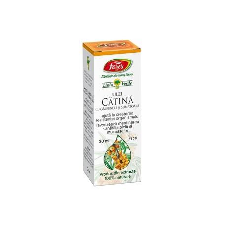 Ulei Catina-Galbenele-Sunatoare 30ml Fares