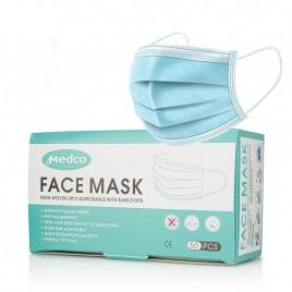 Masca faciala 3 straturi 50buc Medco