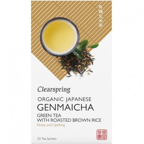 Ceai Verde Genmaicha Bio 20dz Clearspring