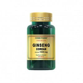 Tablete Ginseng Corean 1000mg 60tb Cosmo Pharm