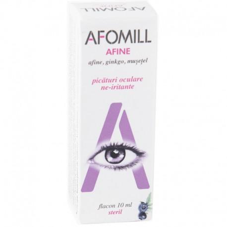 Picaturi Oculare Afomill Afine 10ml Aeffe Farmaceutici