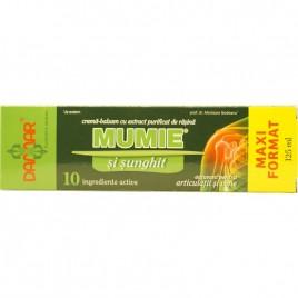 Crema-balsam cu Extract purificat de Rasina Mumie si Sunghit 125ml Damar