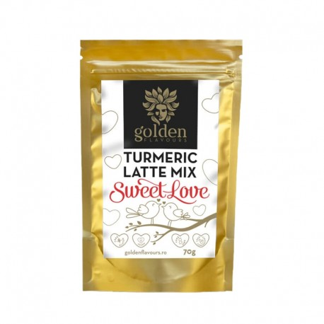 Mix pentru Latte Turmeric sweet love 70 gr Golden Flavours