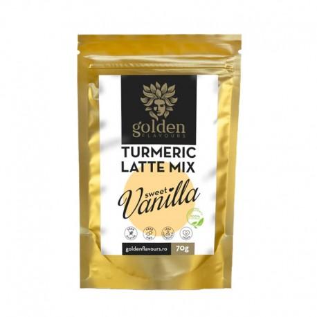 Mix pentru Latte turmeric - vanilie 70 gr Golden Flavours