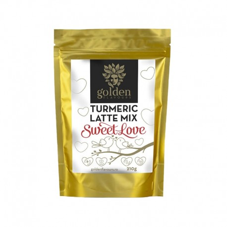 Mix pentru Latte Turmeric sweet love 210 gr Golden Flavours