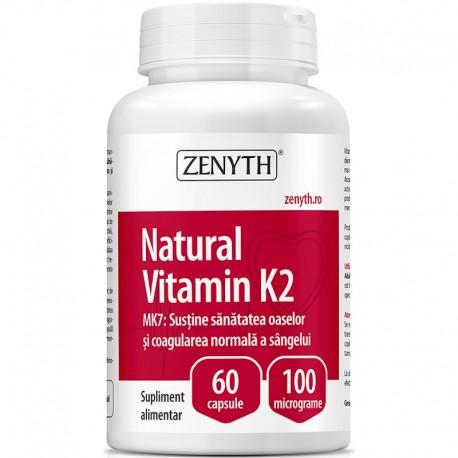Vitamina K2 Naturala 60cps Zenyth Pharmaceuticals