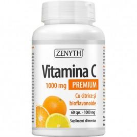 Vitamina C Premium cu Citrice 1000mg 60cps Zenyth Pharmaceuticals