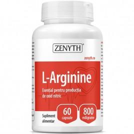Capsule Zenyth Pharmaceuticals L-Arginine 60cps