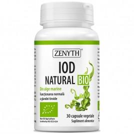 Iod Natural Bio 30cps Zenyth Pharmaceuticals
