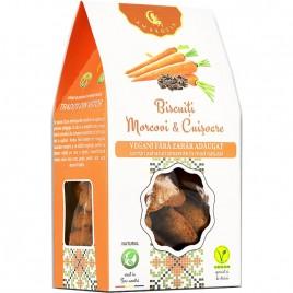 Biscuiti Vegani Morcovi Cuisoare 150g Hiper Ambrozia