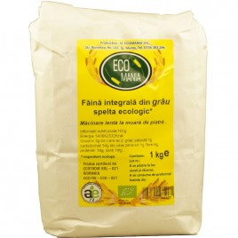 Faina Integrala de Grau Spelta Bio 1kg Ecomania