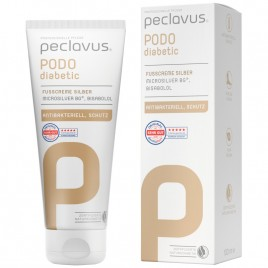 Crema pentru picioare cu Argint si Bisabolol 100ml peclavus PODOdiabetic