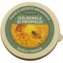 Balsam cu Galbenele si Propolis 30ml Transvital