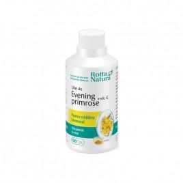 Ulei de Evening Primrose cu Vitamina E 90cps Rotta Natura