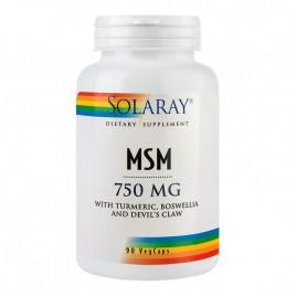 MSM 750mg 90cps Solaray