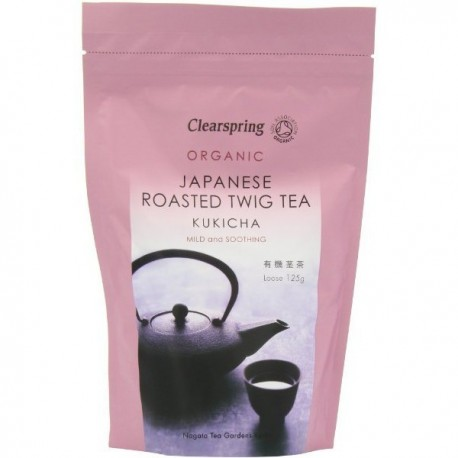 Ceai verde Kukicha Bio 125g Clearspring