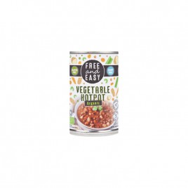 Fasole Mix Sos Chilli Bio 400g Free and Easy
