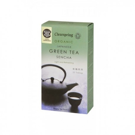 Ceai Verde Sencha, Eco 20plicuri Clearspring