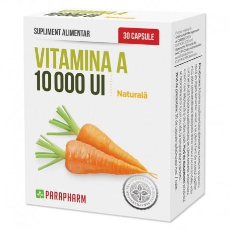 Vitamina A 10000UI 30cps Parapharm