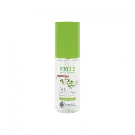 Deodorant Spray Masline Bambus 100ml Neobio