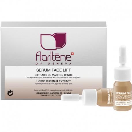 Fiole Ser Facial cu Extract de Castana de India 1fiola a 3ml Floritene