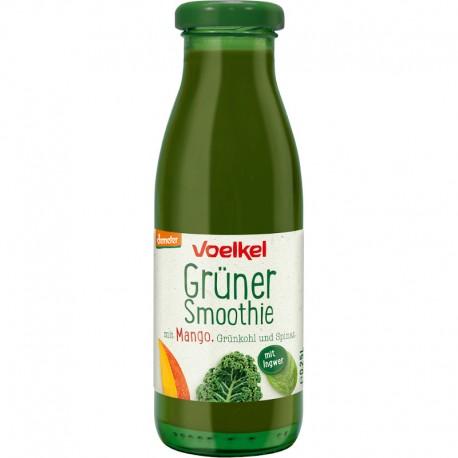Smoothie Verde cu Mango Varza Kale si Spanac Demeter Bio 250ml Voelkel