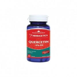 Capsule Quercetin - Vitamina D3 60cps Herbagetica