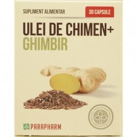 Ulei de Chimen si Ghimbir 30cps Parapharm