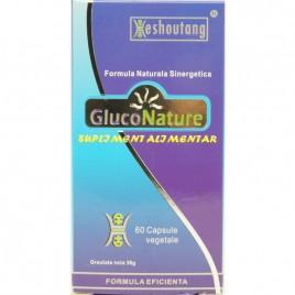Capsule GlucoNature 60cps Quindao Heshoutang