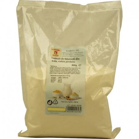Bautura Instant din Soia - Extra Protein 500g Karmel Shop