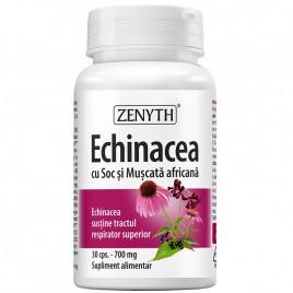 Echinacea cu Soc si Muscata africana 30cps Zenyth Pharmaceuticals