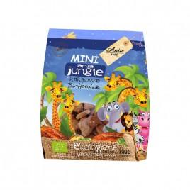 Biscuiti cu Cacao Mini Jungle Bio 100g Ania