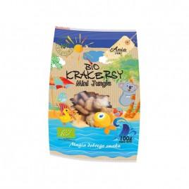 Crackers Mini Jungle Bio 100g Bio Ania
