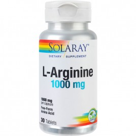 Tablete Solaray L-Arginine 1000mg 30tb