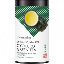 Ceai Verde Japonez Gyokuro Bio 85g Clearspring