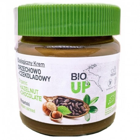 Crema Tartinabila de Ciocolata cu Alune Fara Gluten Bio 190g Bio Up