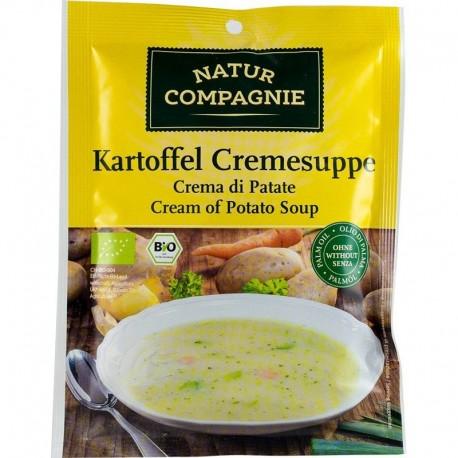 Supa Crema de Cartofi Bio 48g Natur Compagnie