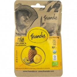 Fructe Deshidratate – Ananas Bio 30g Fruandes