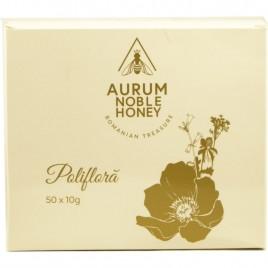 Miere Poliflora Stick 50x10g Aurum Noble Honey