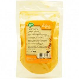Condiment Turmeric, 100g Paradisul Verde