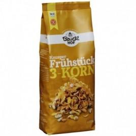 Mic Dejun Crocant 3 Cereale Bio 225g Bau